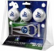 San Diego Toreros Golf Ball Gift Pack with Hat Trick Divot Tool