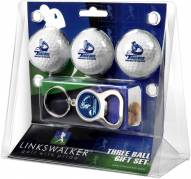 San Diego Toreros Golf Ball Gift Pack with Key Chain