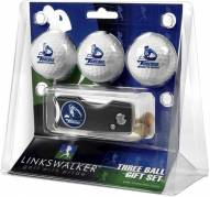 San Diego Toreros Golf Ball Gift Pack with Spring Action Divot Tool