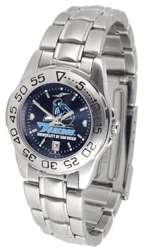 San Diego Toreros Sport Steel AnoChrome Women's Watch