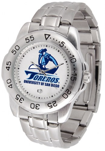 San Diego Toreros Sport Steel Men's Watch