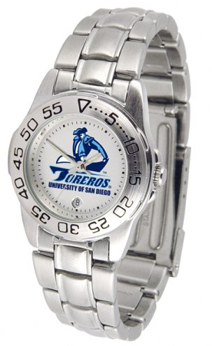 San Diego Toreros Sport Steel Women's Watch