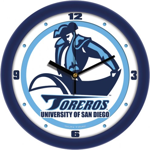 San Diego Toreros Traditional Wall Clock