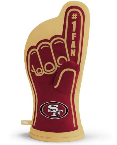 San Francisco 49ers #1 Fan Oven Mitt