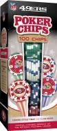San Francisco 49ers 100 Poker Chips