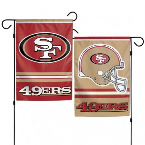 "San Francisco 49ers 11"" x 15"" Garden Flag"