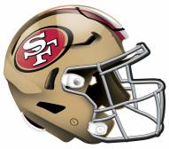 "San Francisco 49ers 12"" Helmet Sign"