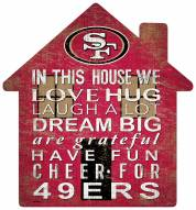 "San Francisco 49ers 12"" House Sign"