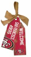 "San Francisco 49ers 12"" Team Tags"