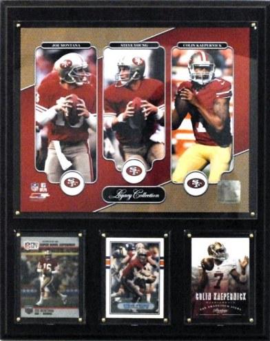 "San Francisco 49ers 12"" x 15"" Legacy Collection Plaque"