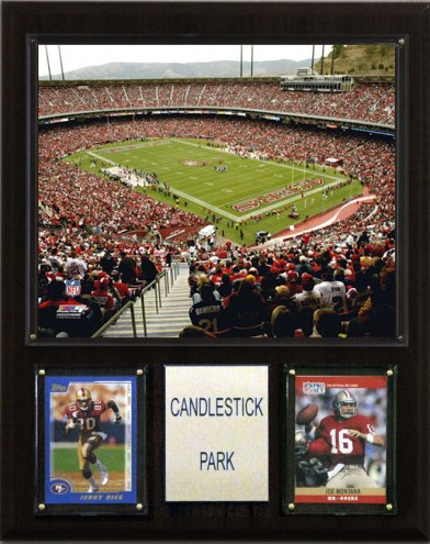 "San Francisco 49ers 12"" x 15"" Stadium Plaque"