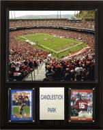 """San Francisco 49ers 12"""" x 15"""" Stadium Plaque"""