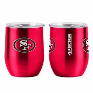 San Francisco 49ers 16 oz. Gameday Stainless Curved Beverage Tumbler