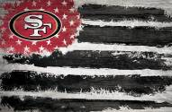 "San Francisco 49ers 17"" x 26"" Flag Sign"