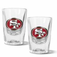 San Francisco 49ers 2 oz. Prism Shot Glass Set