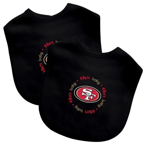 San Francisco 49ers 2-Pack Baby Bibs