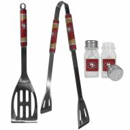 San Francisco 49ers 2 Piece BBQ Set with Salt & Pepper Shakers