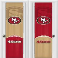 San Francisco 49ers 2 Sided Door Wrap