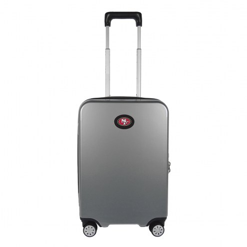 """San Francisco 49ers 22"""" Hardcase Luggage Carry-on Spinner"""