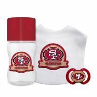 San Francisco 49ers 3-Piece Baby Gift Set