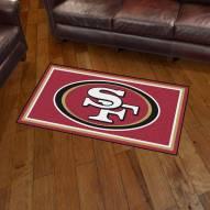 San Francisco 49ers 3' x 5' Area Rug