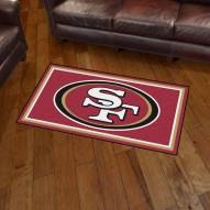 San Francisco 49ers 3' x 5' Area Rug