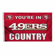 San Francisco 49ers 3' x 5' Country Flag