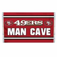 San Francisco 49ers 3' x 5' Man Cave Flag