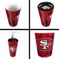 San Francisco 49ers 4-Piece Bath Set