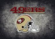 San Francisco 49Ers 4' x 6' NFL Distressed Area Rug
