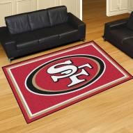 San Francisco 49ers 5' x 8' Area Rug