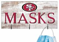 "San Francisco 49ers 6"" x 12"" Mask Holder"