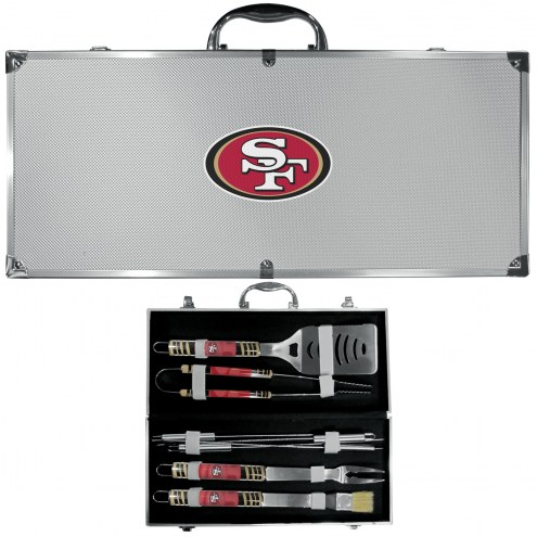 San Francisco 49ers 8 Piece Tailgater BBQ Set