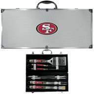 San Francisco 49ers 8 Piece Tailgater BBQ Set