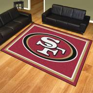 San Francisco 49ers 8' x 10' Area Rug