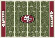 San Francisco 49Ers 8' x 11' NFL Home Field Area Rug