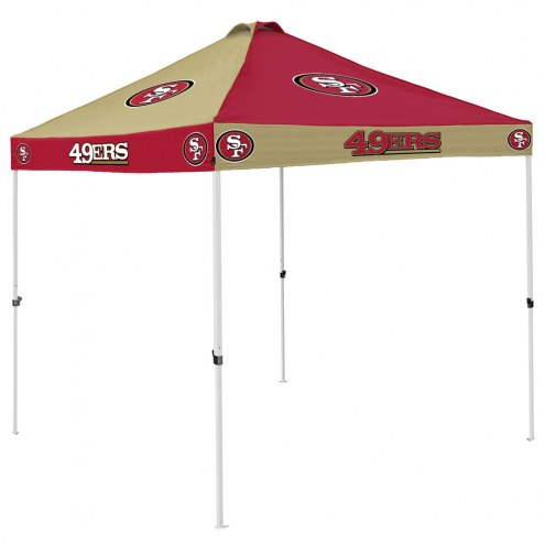 San Francisco 49ers 9' x 9' Checkerboard Tailgate Canopy Tent