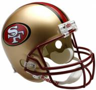 San Francisco 49ers 96-08 Riddell VSR4 Collectible Full Size Football Helmet