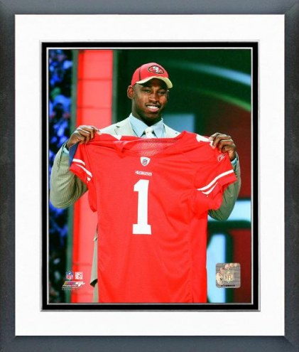 San Francisco 49ers Aldon Smith NFL Draft #7 Pick Framed Photo