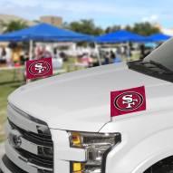San Francisco 49ers Ambassador Car Flags