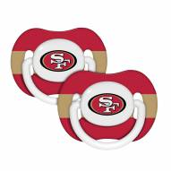 San Francisco 49ers Pacifiers - 2 Pack