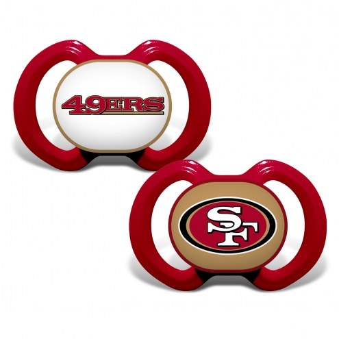 San Francisco 49ers Baby Pacifier 2-Pack