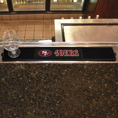 San Francisco 49ers Bar Mat
