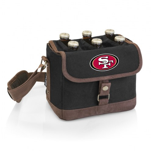 San Francisco 49ers Beer Caddy Cooler Tote with Opener