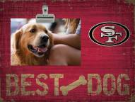 San Francisco 49ers Best Dog Clip Frame