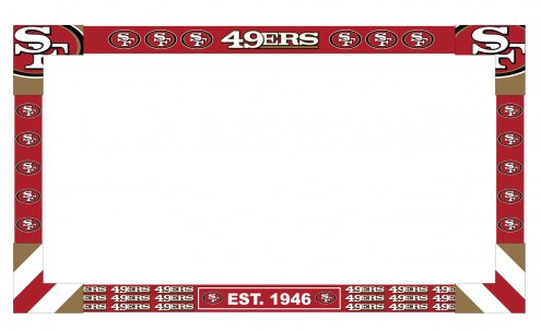 San Francisco 49ers Big Game Monitor Frame