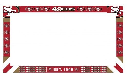 San Francisco 49ers Big Game TV Frame