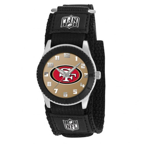 San Francisco 49ers Black Rookie Kids Watch