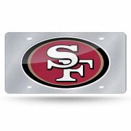 San Francisco 49ers Bling License Plate
