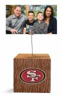 San Francisco 49ers Block Spiral Photo Holder